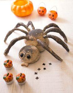 pain araignee halloween