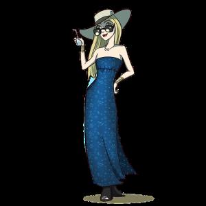 robe de femme-illustration