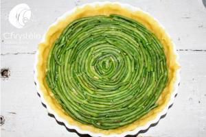 Tarte aux haricots verts