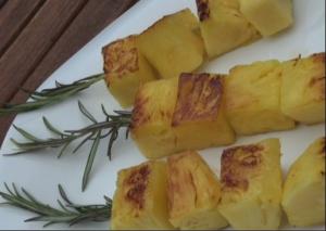 ananas au romarin