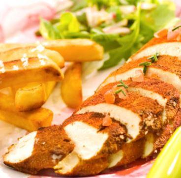 Recette : poulet aux épices
