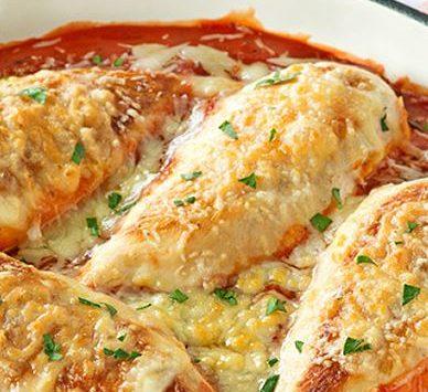 Recette : poulet au basilic et féta